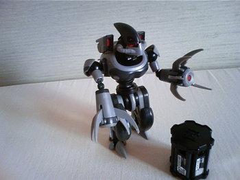 ダンボール戦機プラモデル画像